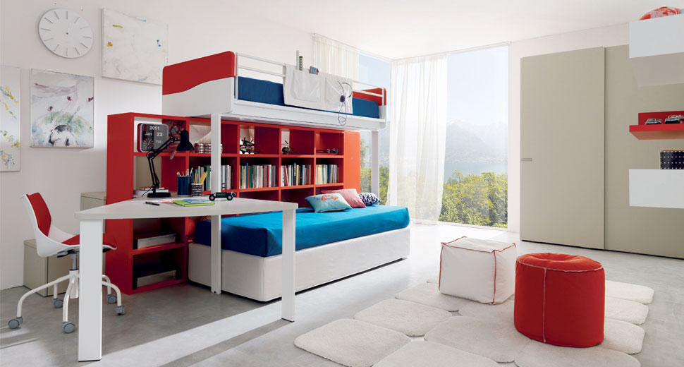multispazio kids room by zalf