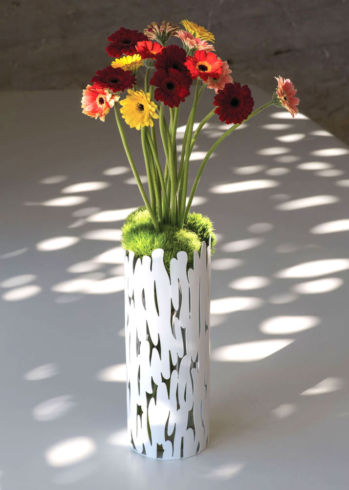 bark vase by alessi