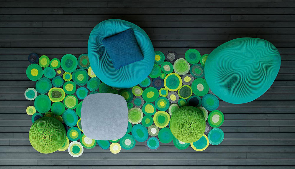 ellissi carpet by paola lenti