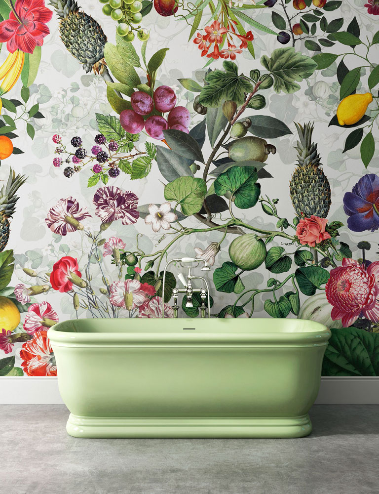 botanica grey wallpaper by devon&devon