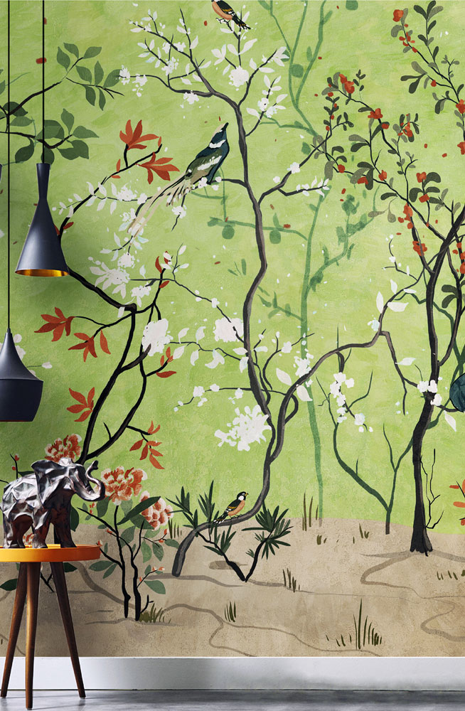 la selva fiorita wallpaper by wallpepper