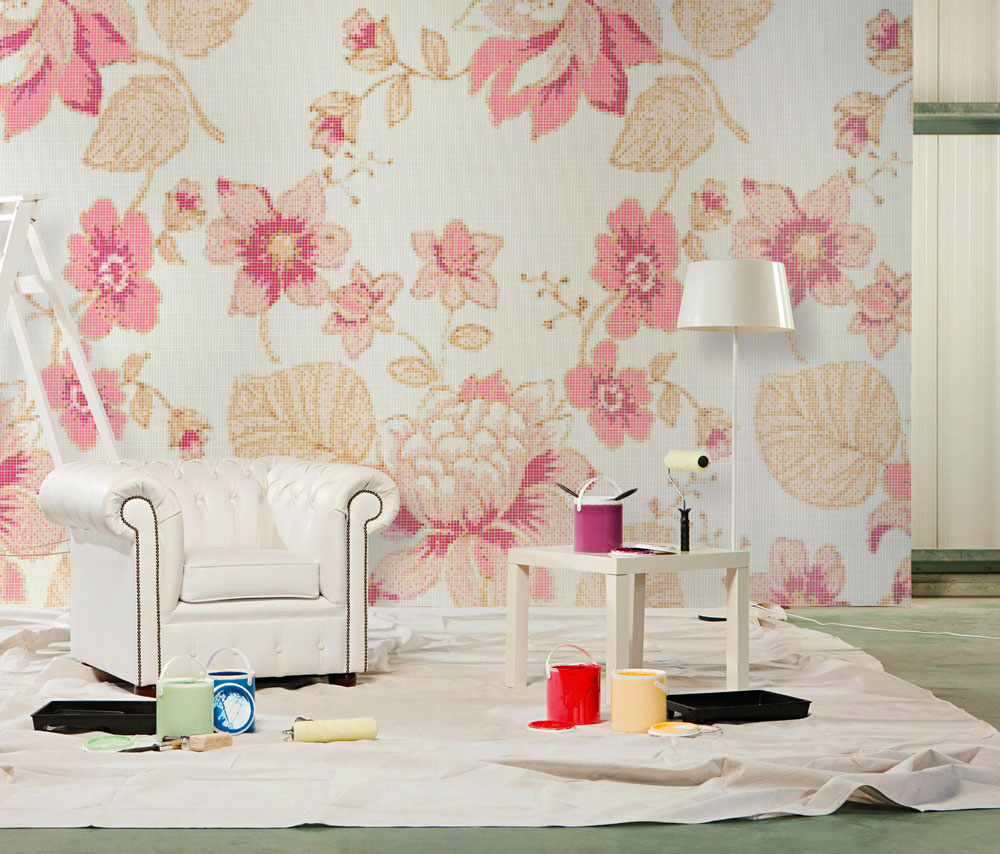 marella rose mosaic by bisazza