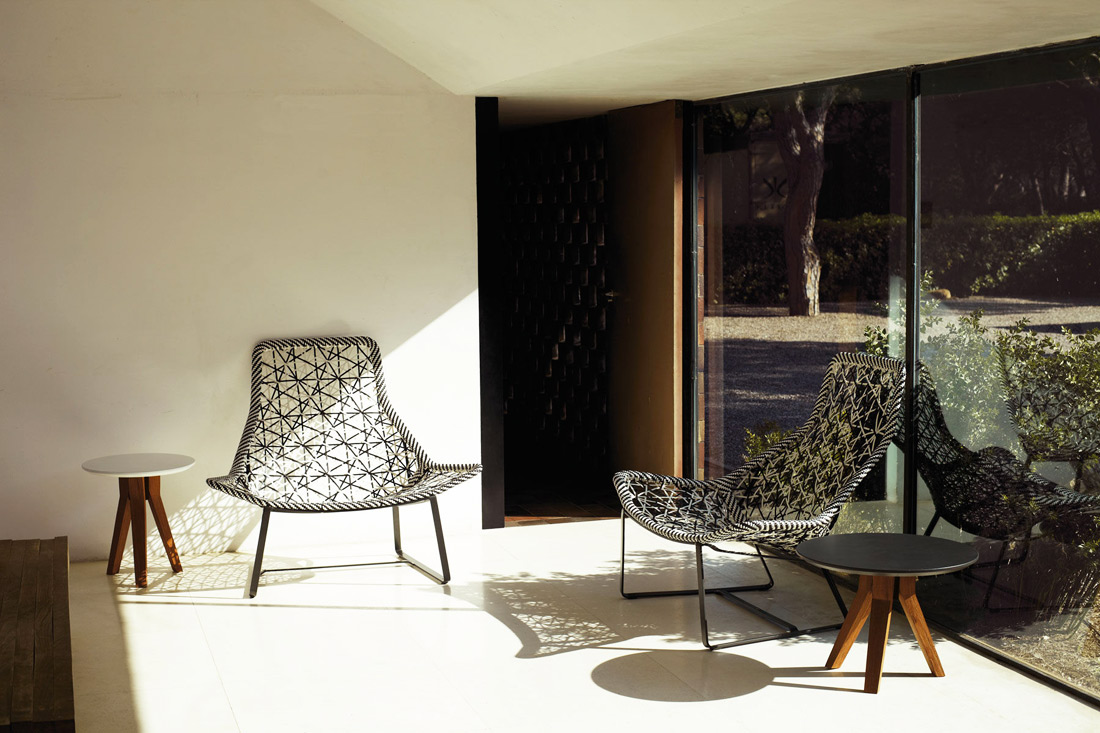 maia armchair by kettal
