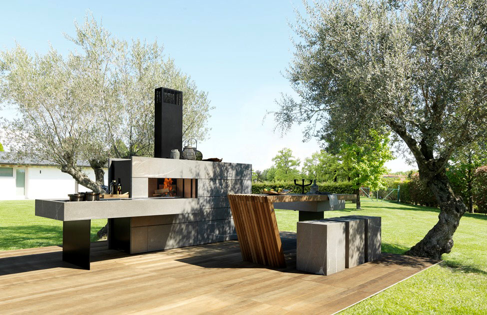 outdoor kitchen by modulnova