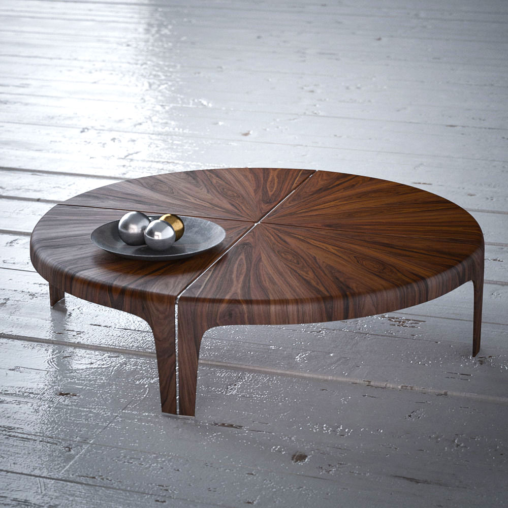 round small table by giorgetti