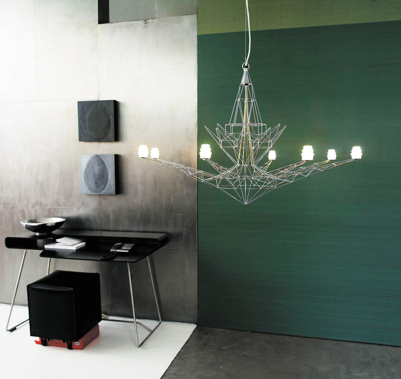 Lampada Lightweight, Tom Dixon, Foscarini, 1995