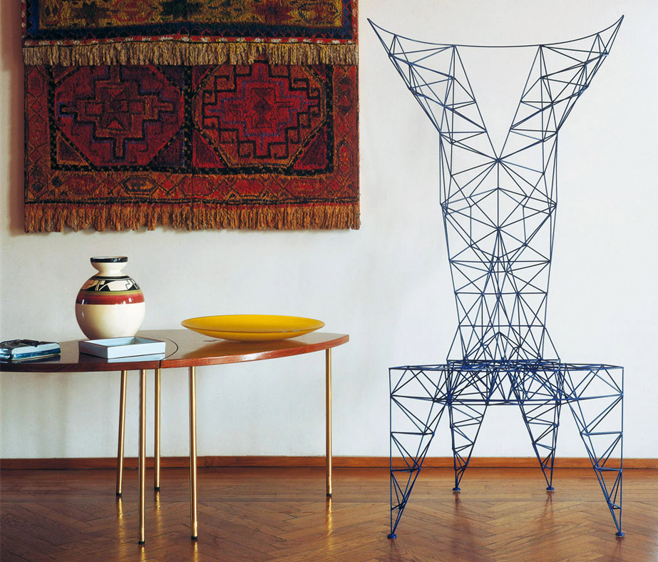 Poltrona Pylon Chair, Tom Dixon, Cappellini, 1992