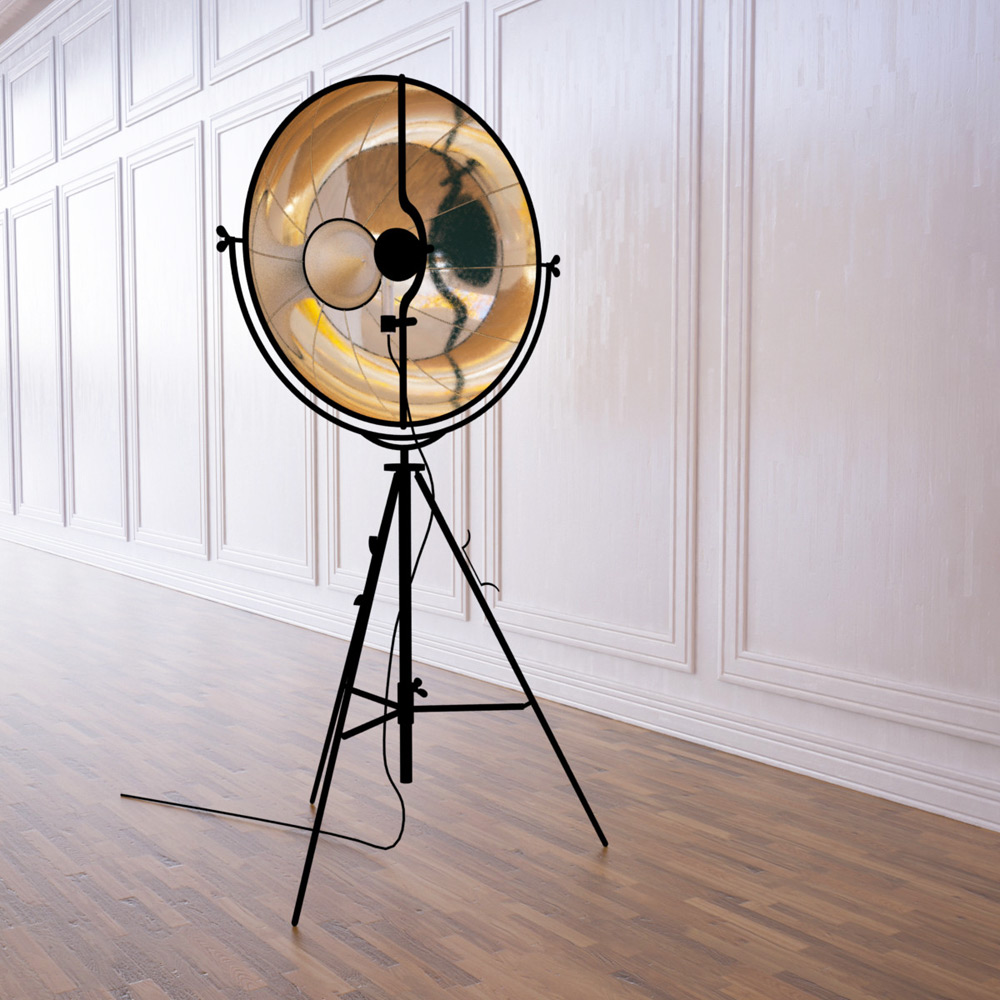 fortuny lamp by pallucco