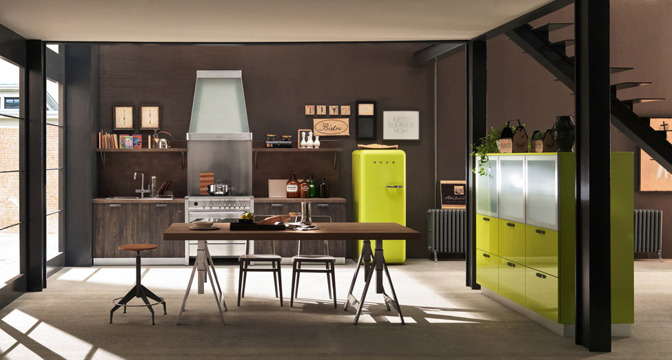 ice industrial kitchen by febal casa