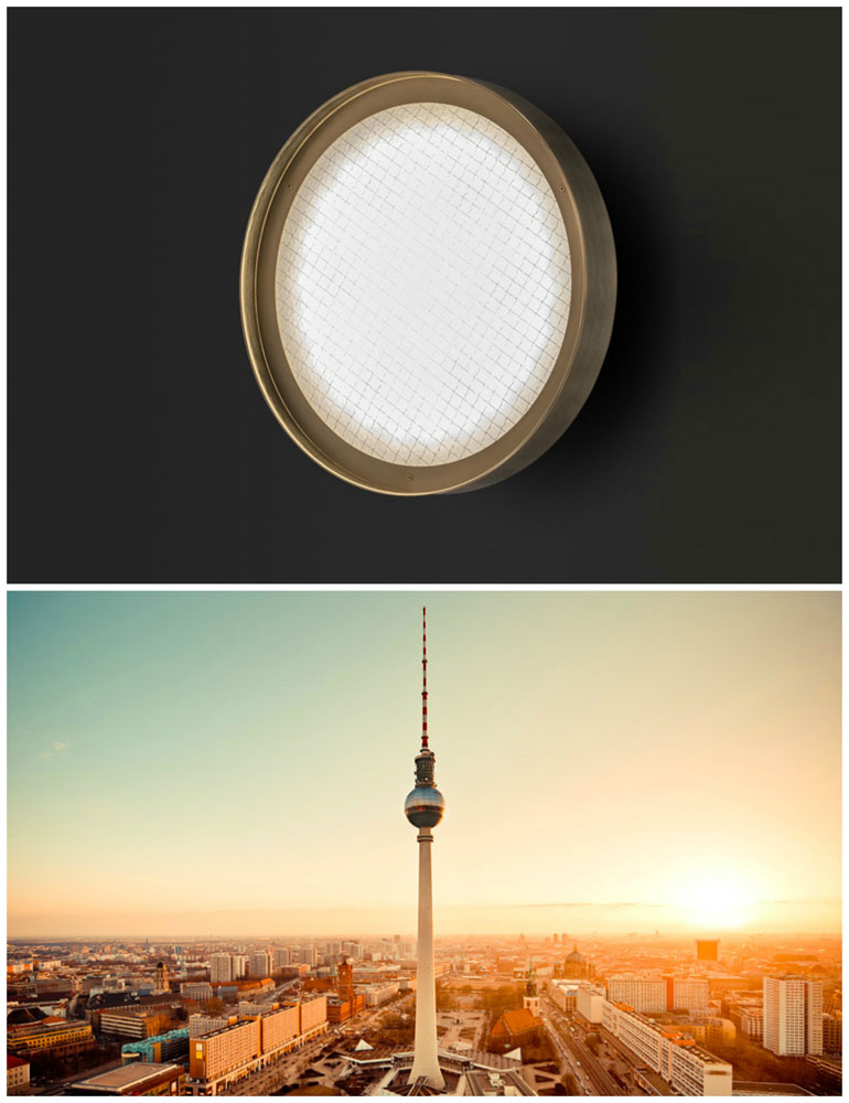 berlin lamp by oluce