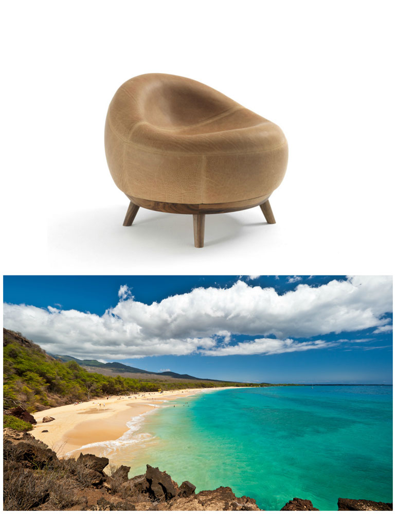 maui soft armchair by riva 1920