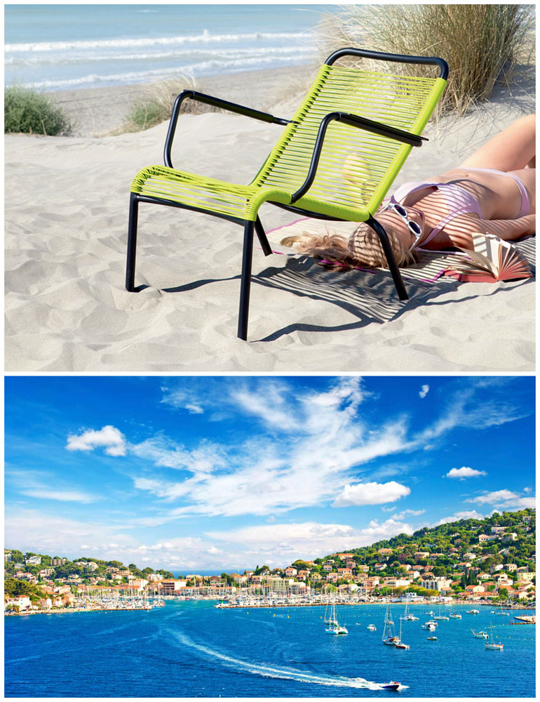 saint tropez small armchair by fermob