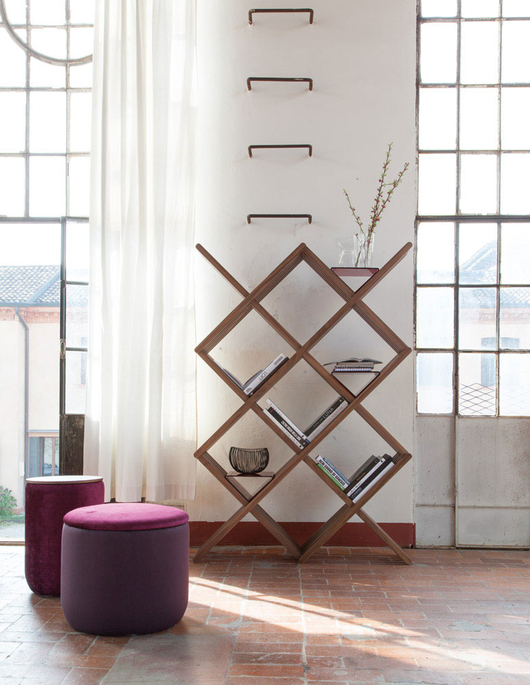 arpa bookcase by tonin casa