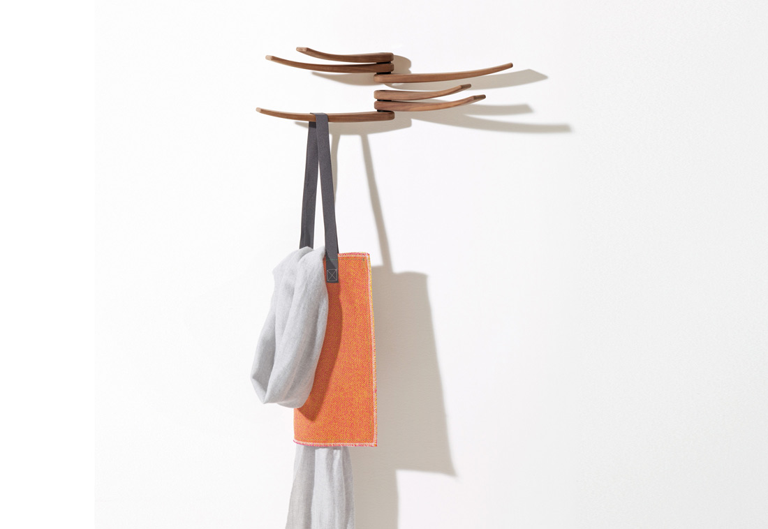 wing coat hanger by arper