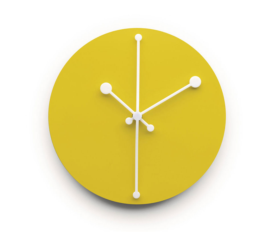dotty clock by alessi