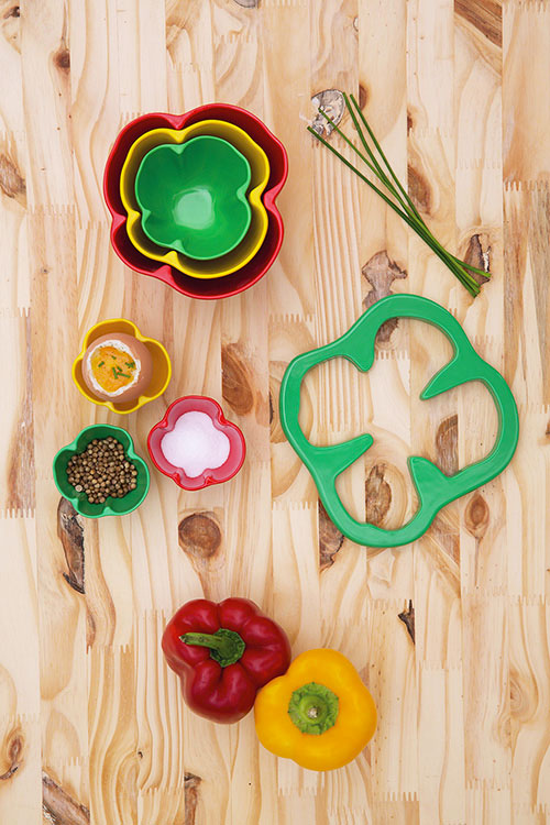 kitchen garden bowls by zakdesign