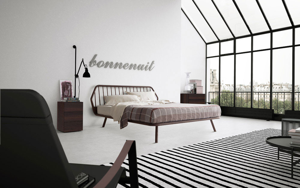 trama bed by pianca
