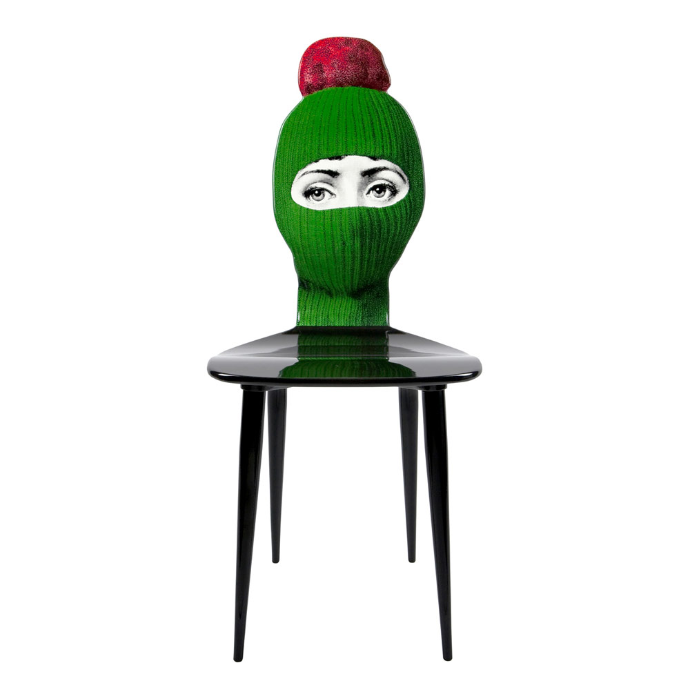 lux gstaad chair by fornasetti