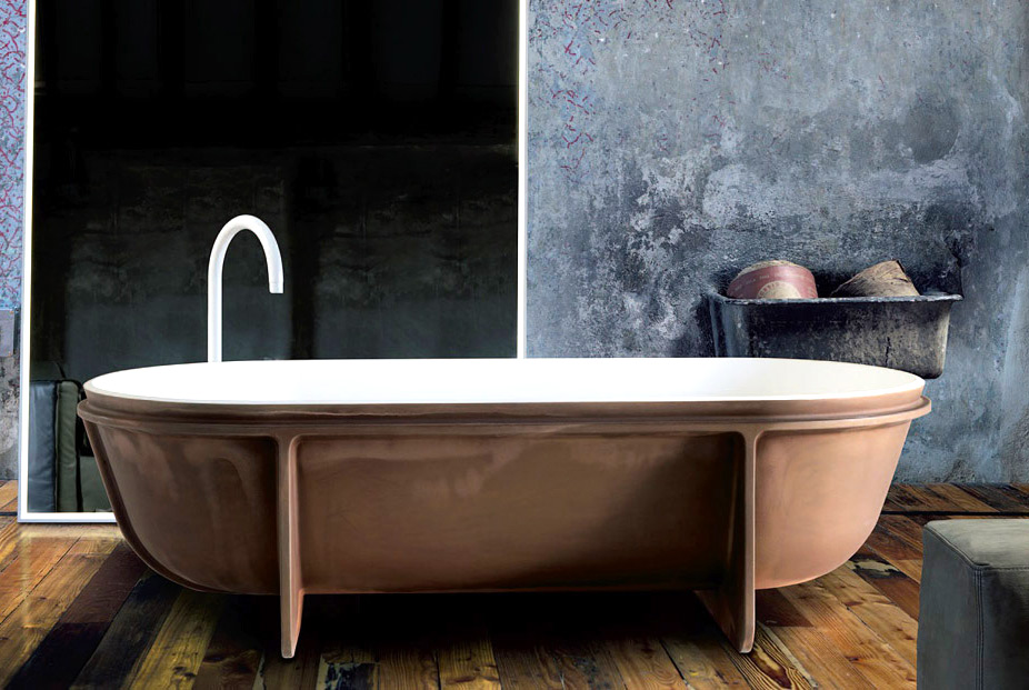 controstampo bathtub by falper