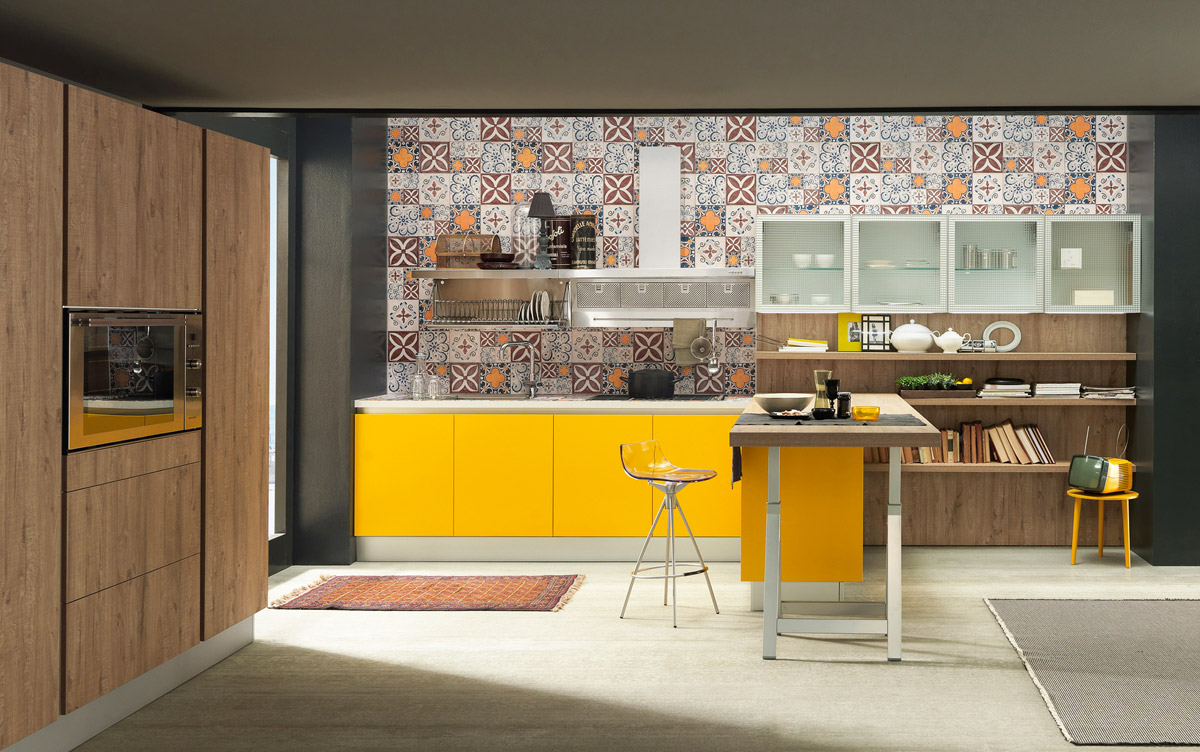 Sand Industrial Edition 05 Kitchen, Dario Poles, Febal Casa, 2014