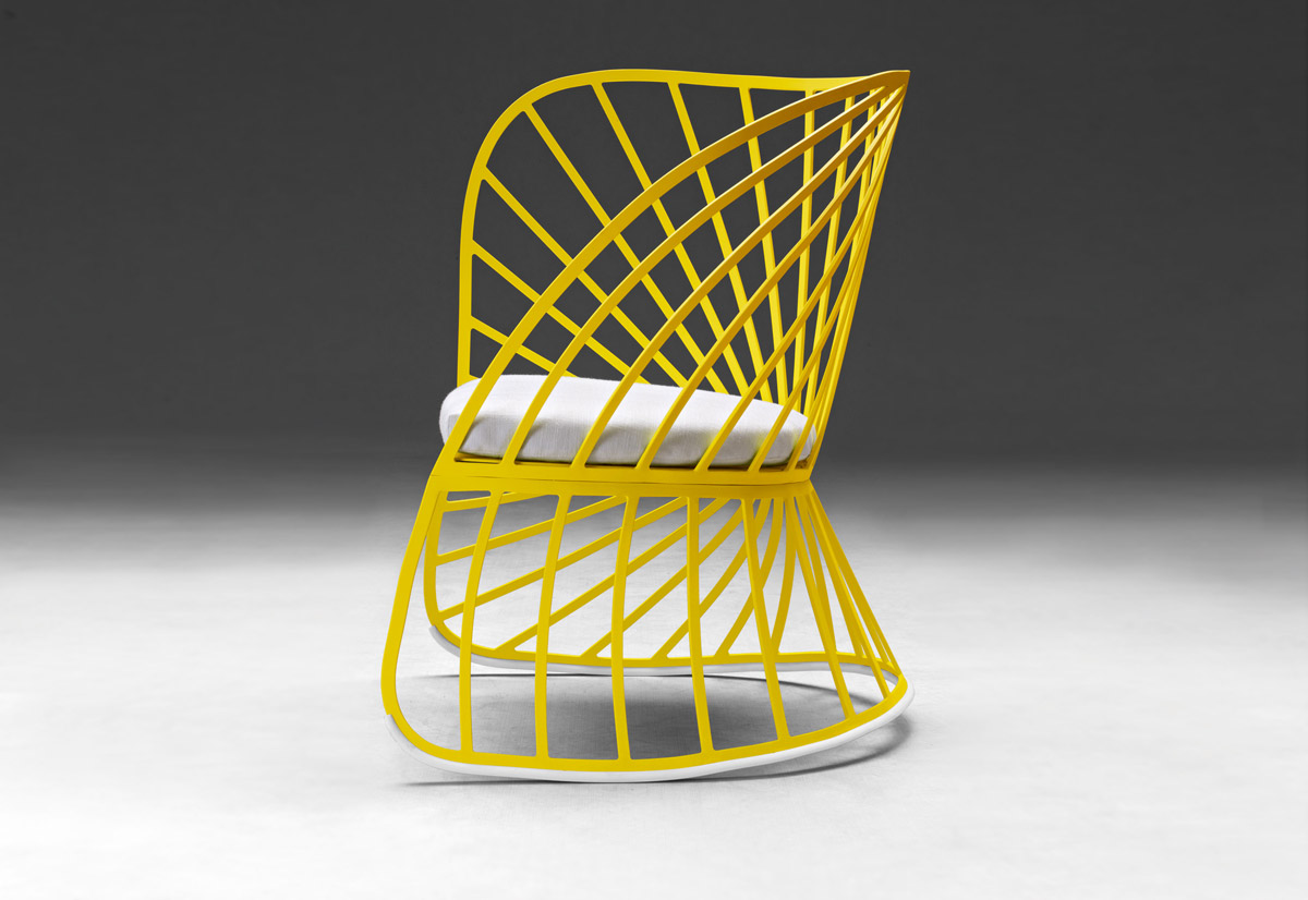 Sol Small Armchair, Constance Guillet, Molteni&C, 2012