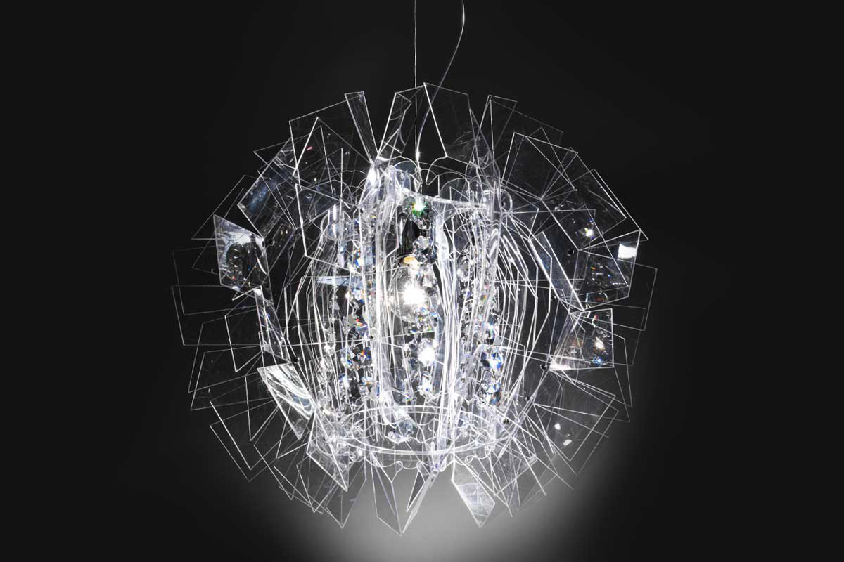 Crazy Diamond Lamp, Luca Mazza, Slamp