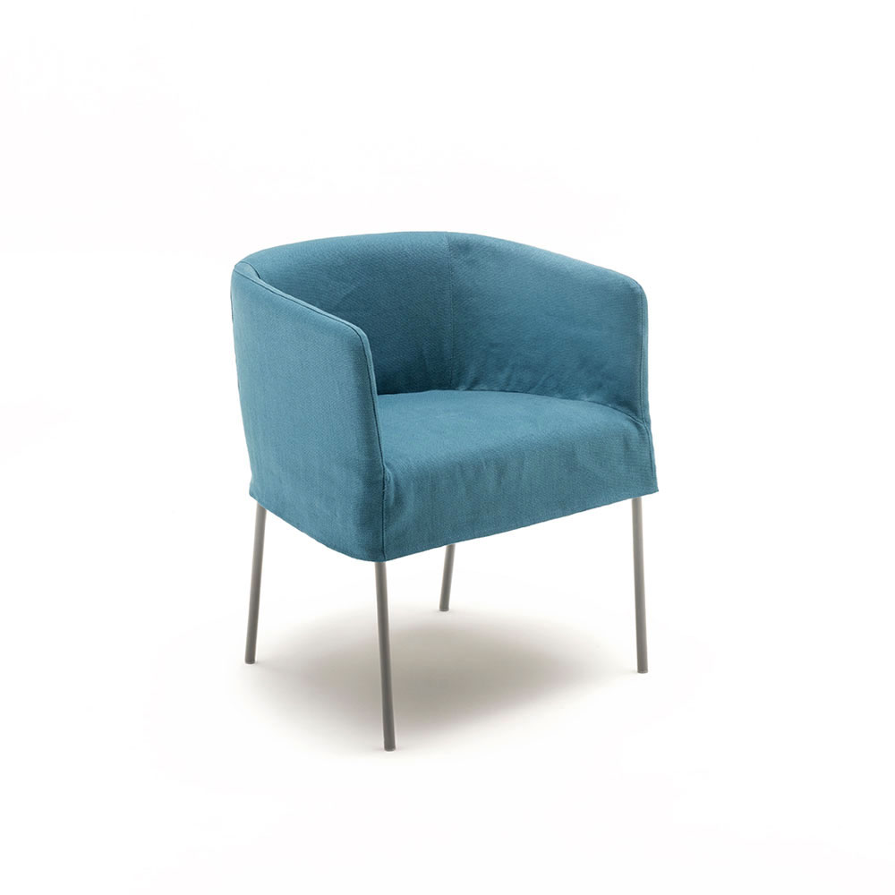 maja d small armchair by living divani