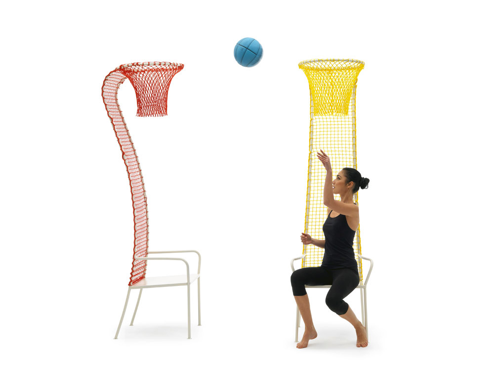 Lazy Basketball Chair, Emanuele Magini, Campeggi 2013