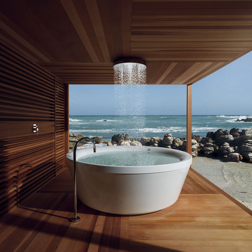 geo 180 whirlpool  bathtub by kos