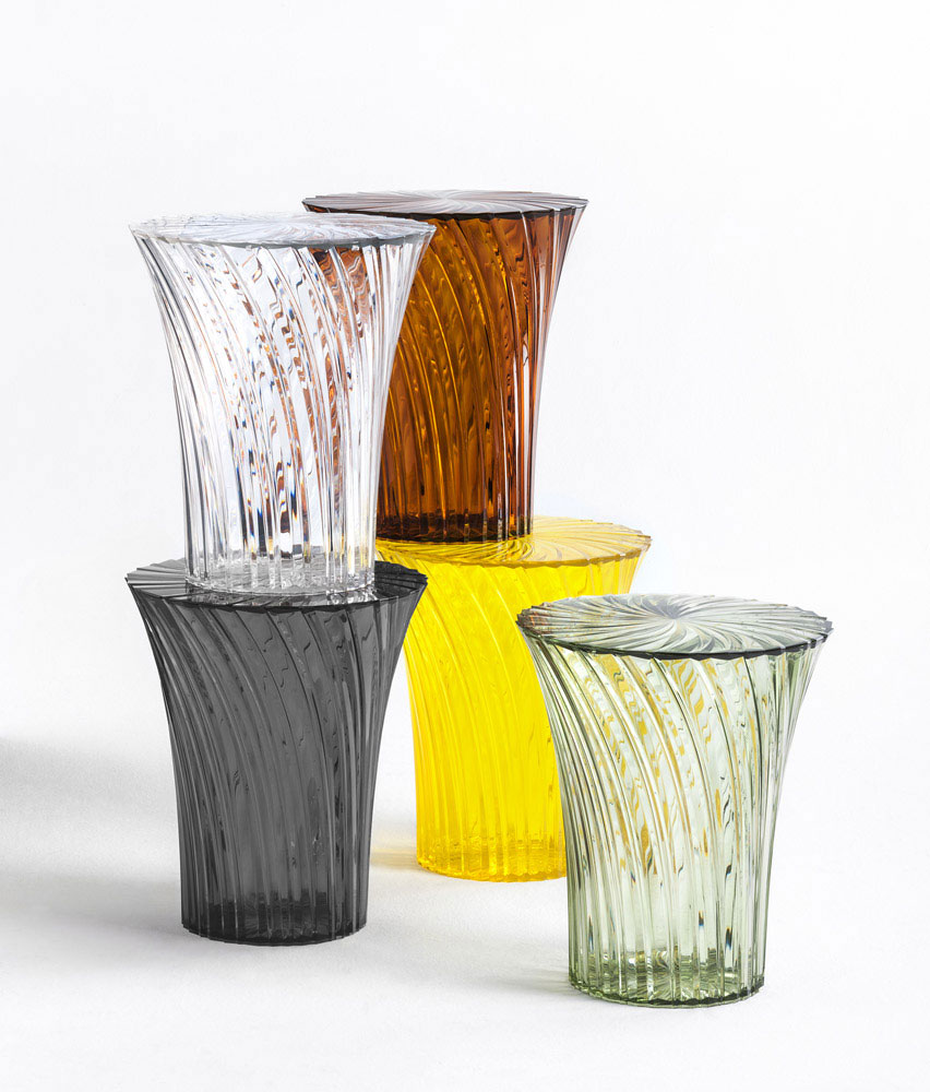 sparkle stool by kartell