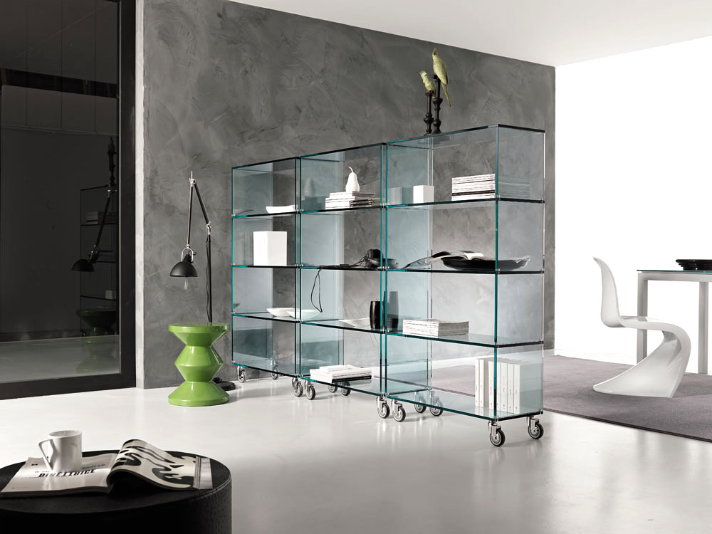 libreria bookcase by tonelli design