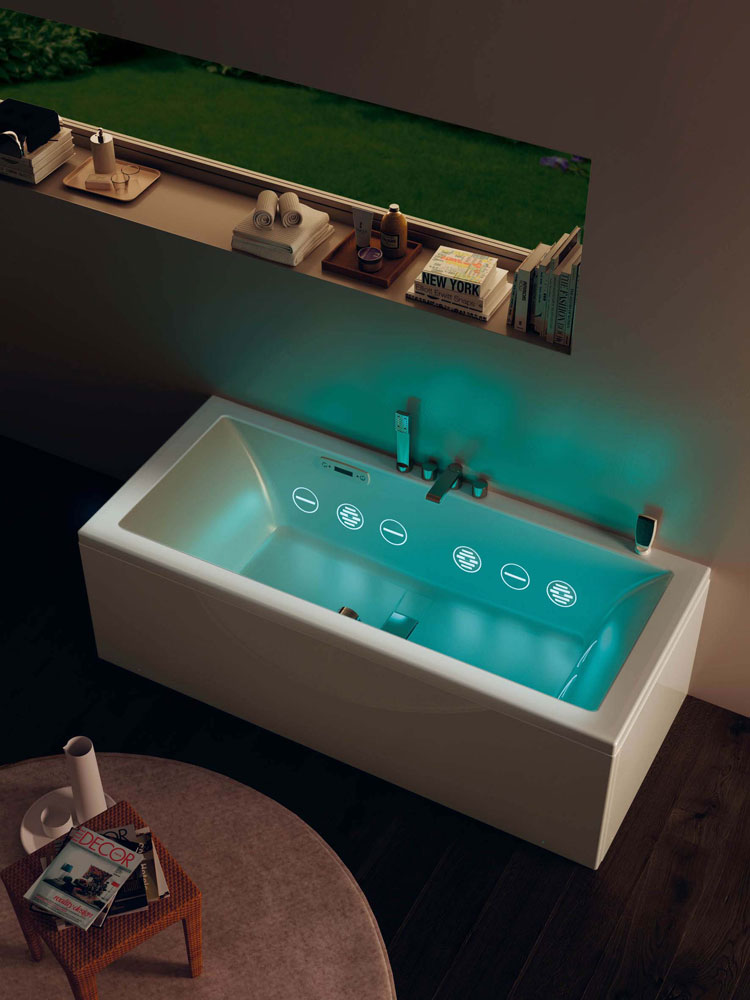 wilmotte hydromassage tub by teuco