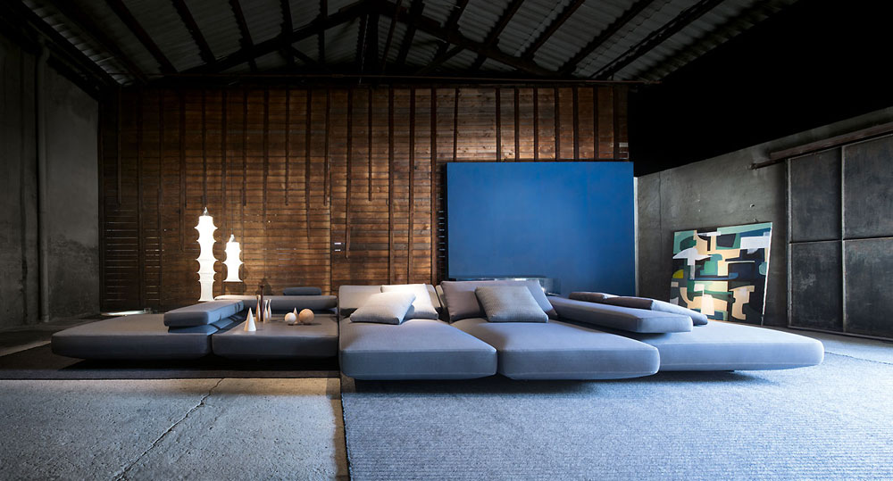 agio sofa by paola lenti