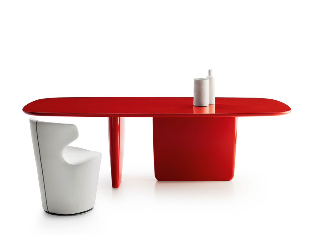 tobi-ishi table by b&b italia