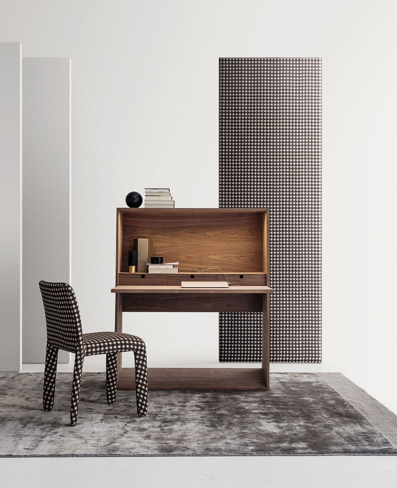 ink writing desk by molteni&c