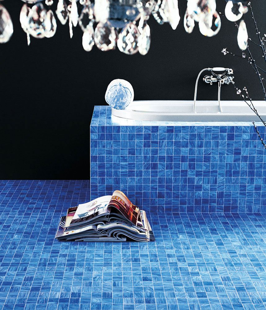 colours mosaic by bisazza