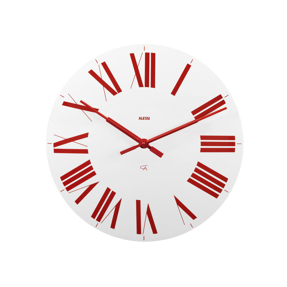 firenze clock by alessi