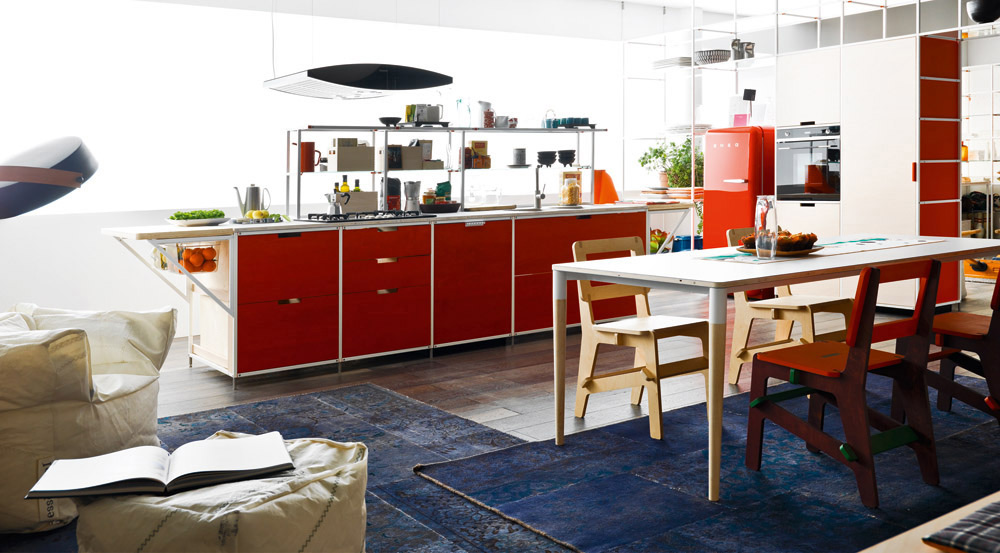 meccanica kitchen by valcucine