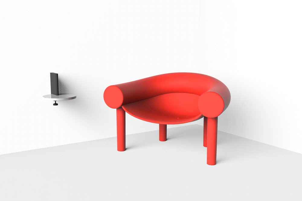 sam son small armchair by magis