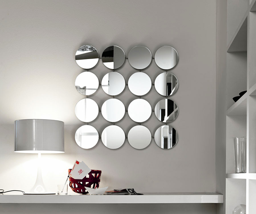 bungalow round mirror by tonelli