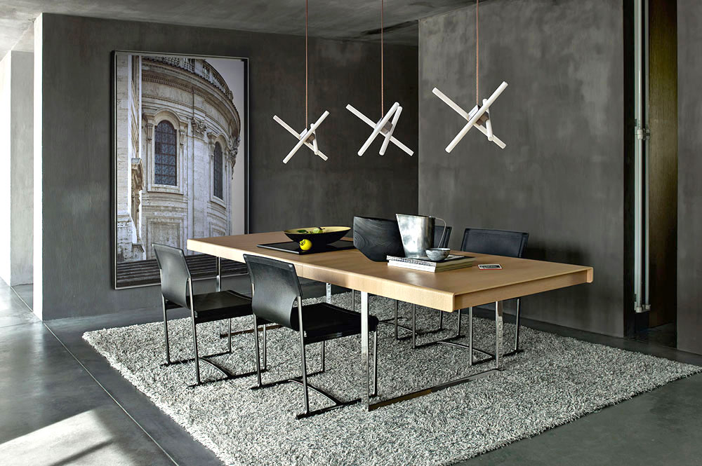 athos 12 table by b&b italia