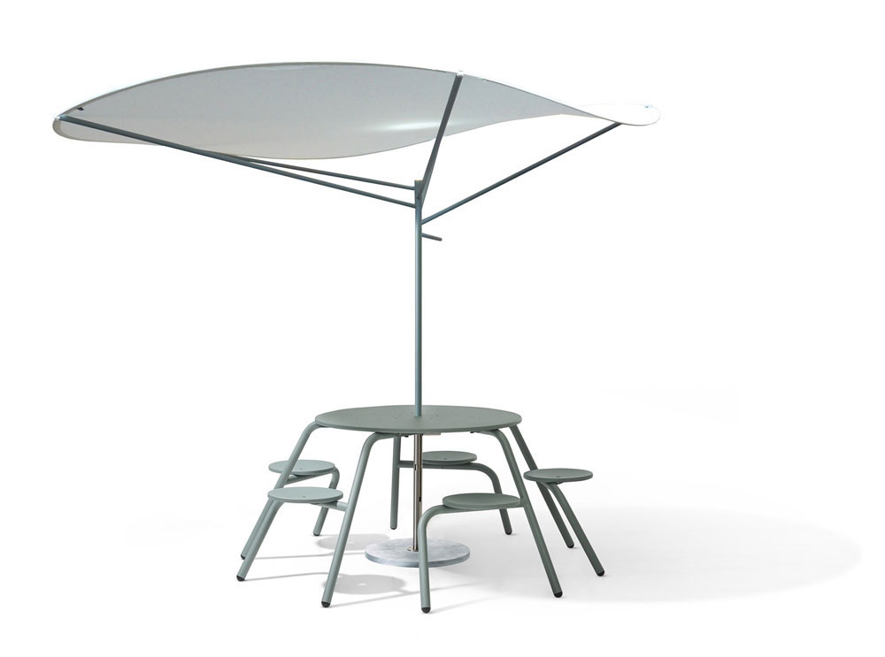 Table and sunshade Paranoise, 2019 Extremis