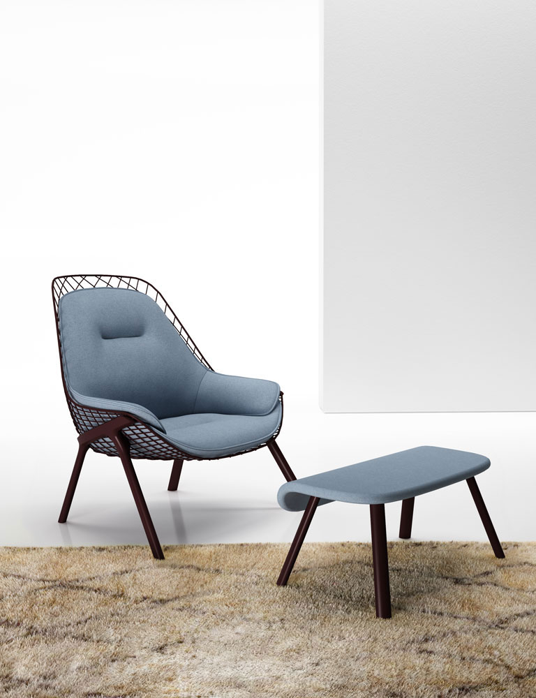 gran kobi armchair by alias