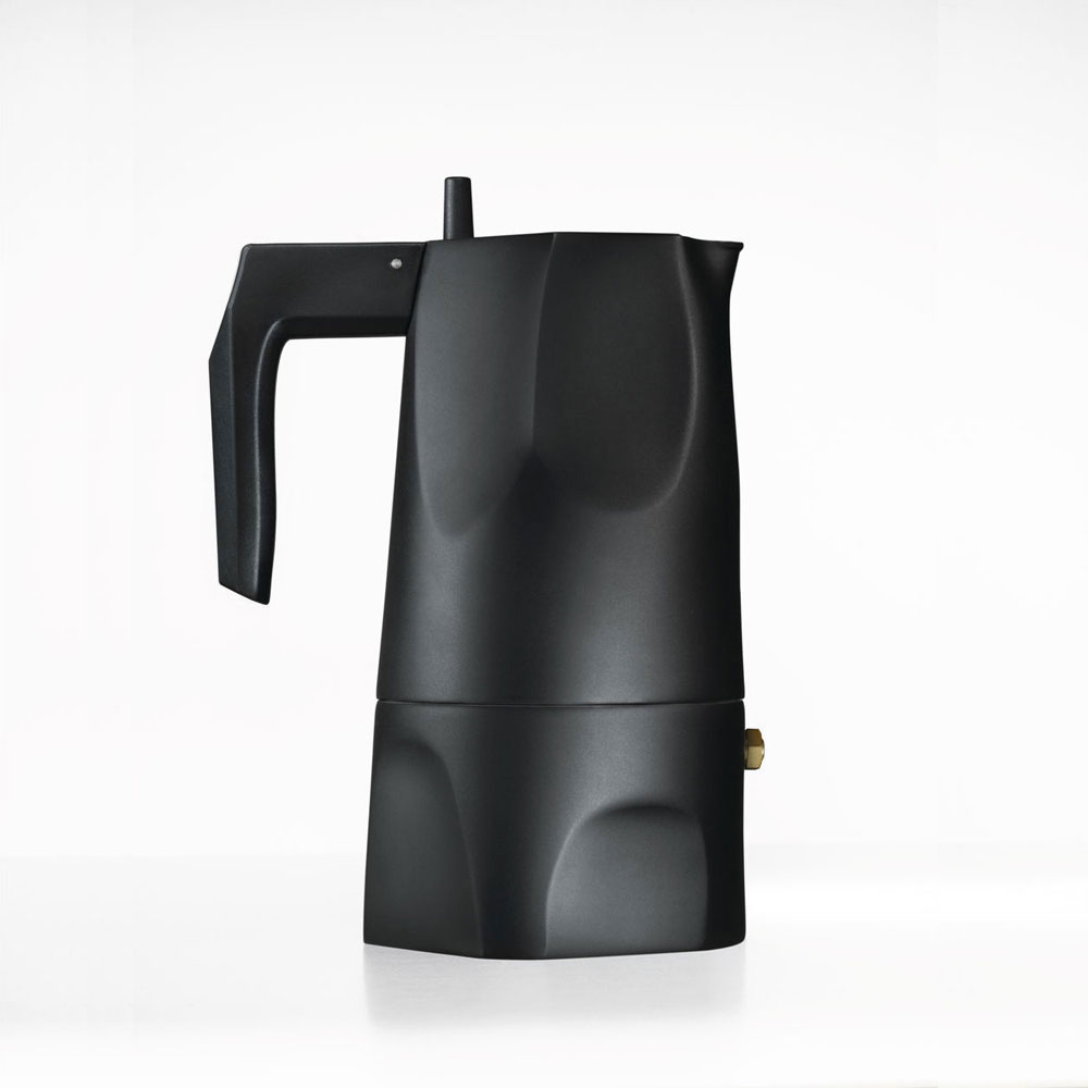 caffettiera ossidiana by alessi