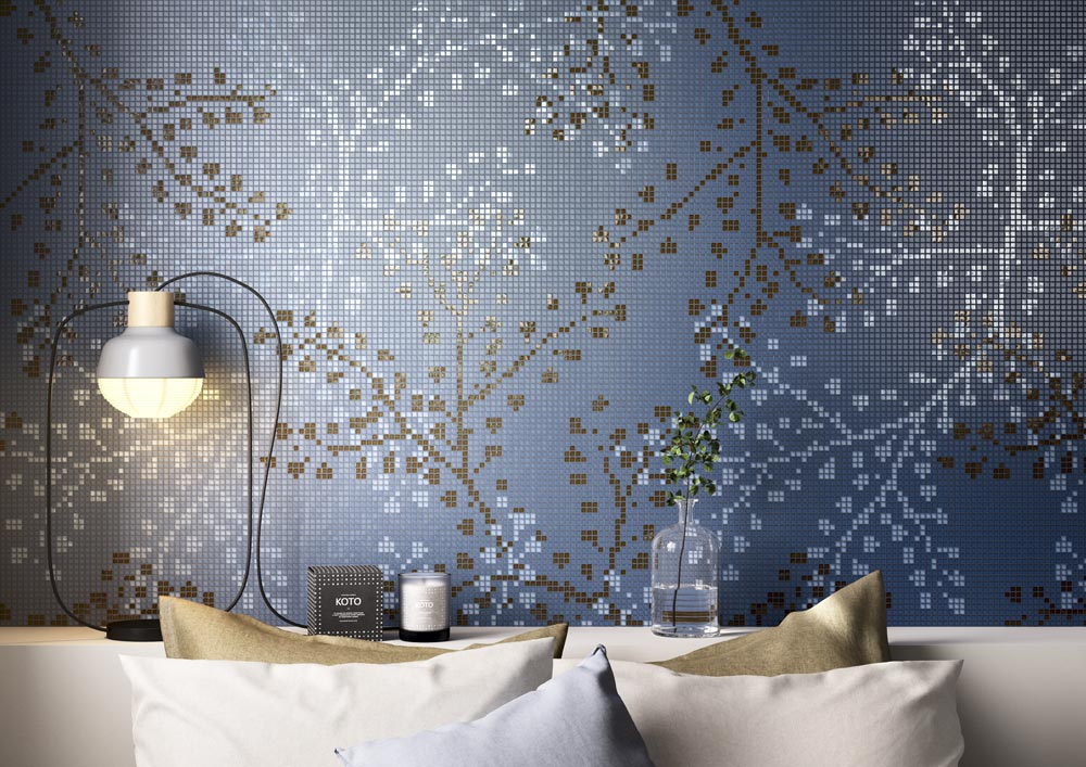 gypso blu collection by mosaico+
