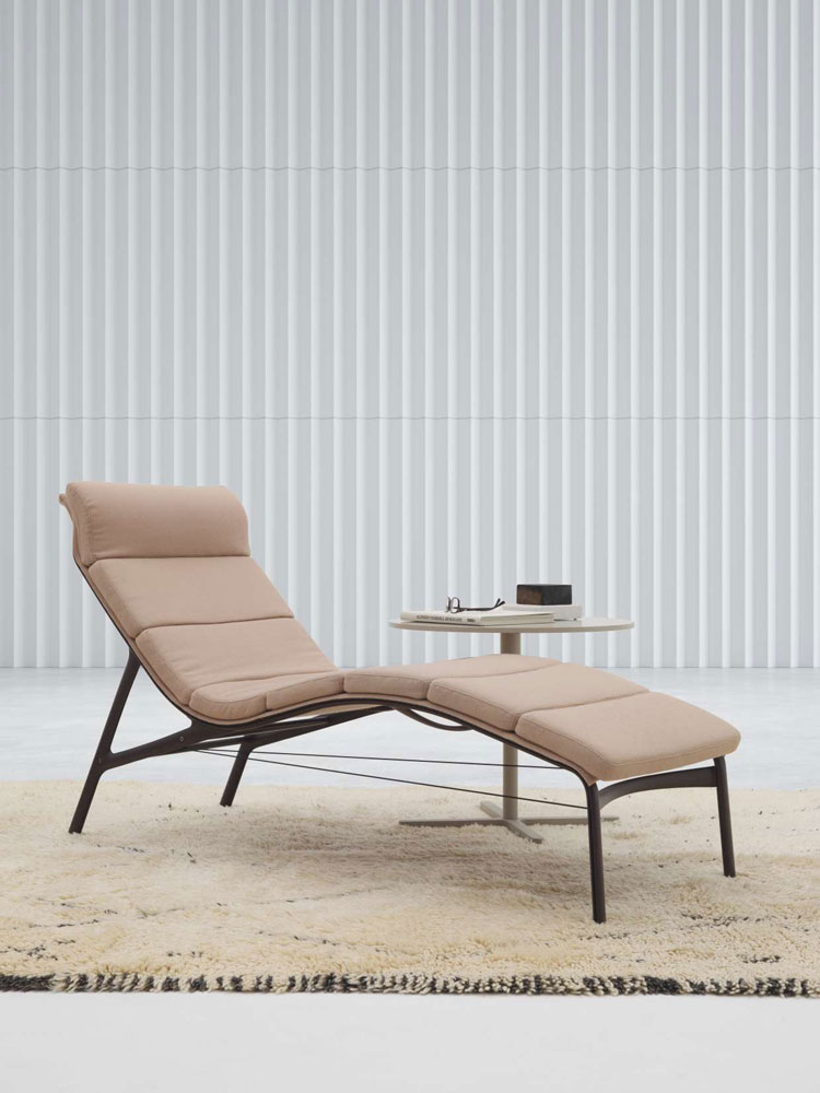 chaise longue longframe soft by alias