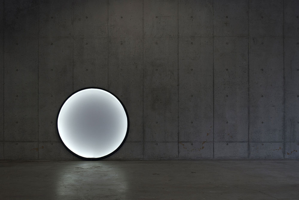 collapsible moon lamp by pallucco