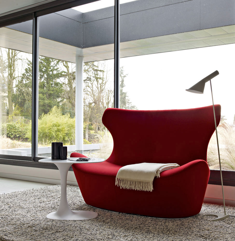 love papilio sofa by b&b italia
