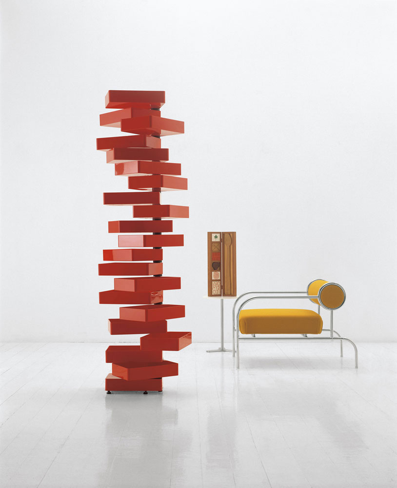 revolving cabinet chest of drawers by cappellini