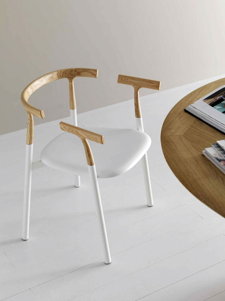 twig small armchair by alias